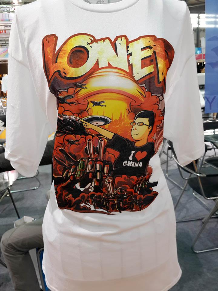 Focus digital for T shirt printing and distribution